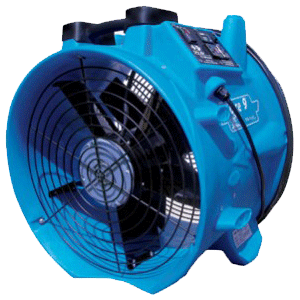 axial air movers equipment
